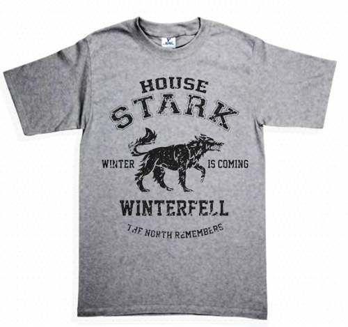 $149.00 Playera Game of Thrones Stark House - Comprar en Jinx