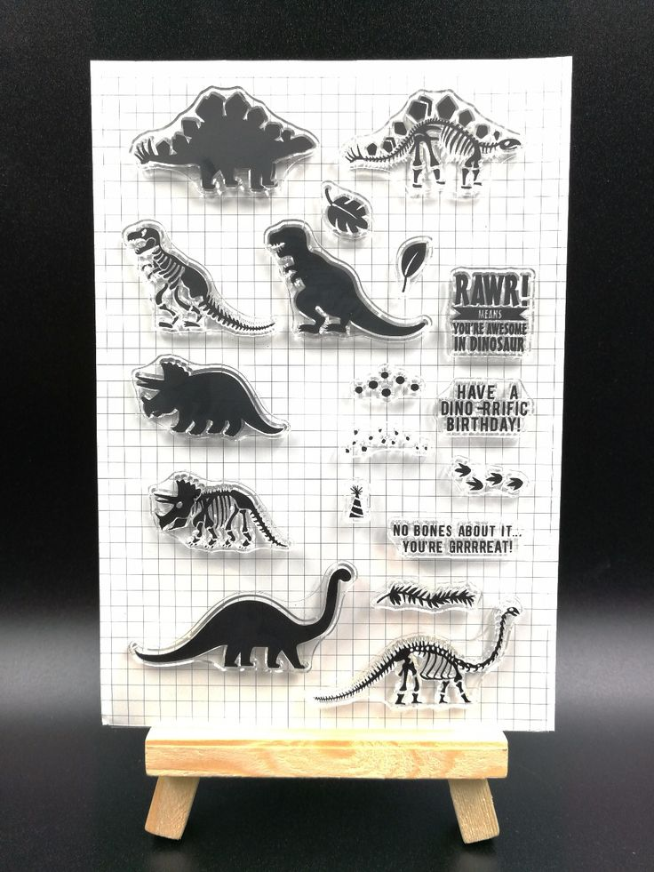 Cheap clear stamps, Buy Quality transparent clear silicone stamp directly from China clear silicone stamp Suppliers: Dinosaur Transparent Clear Silicone Stamp/Seal for DIY scrapbooking/photo album Decorative clear stamp sheetsH093