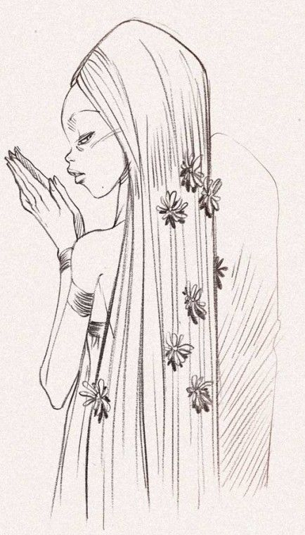 Alessandro Barbucci - Sky Doll Sketch