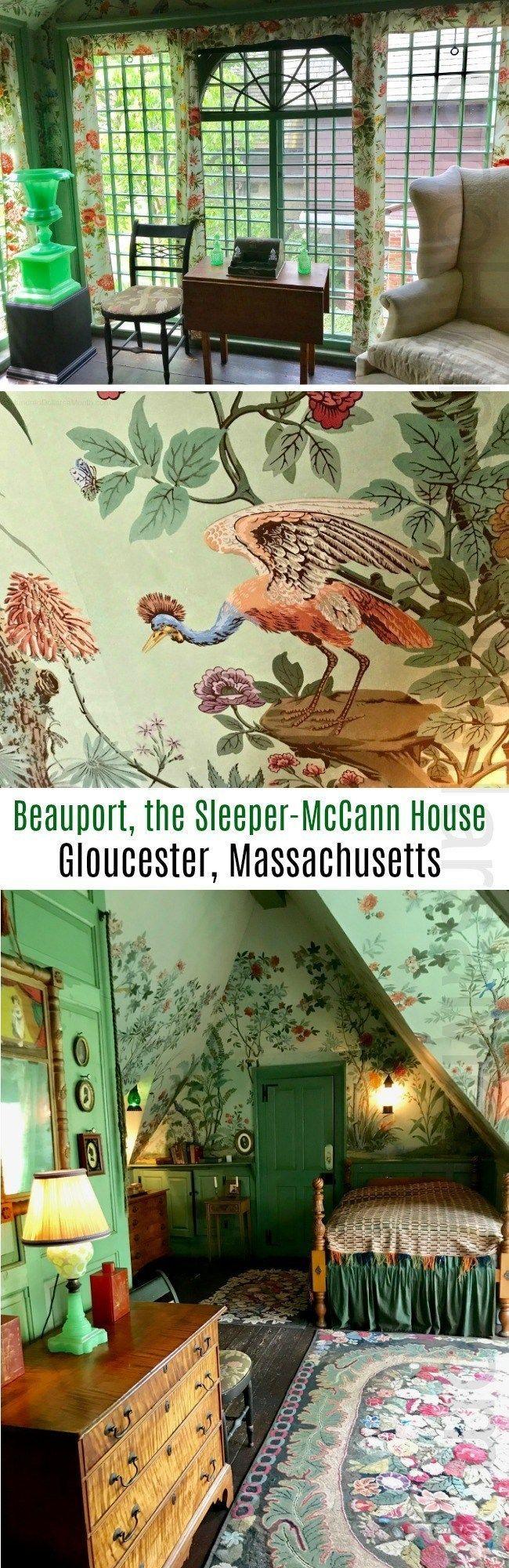 Beauport, the Sleeper-McCann House ~ Gloucester, Massachusetts