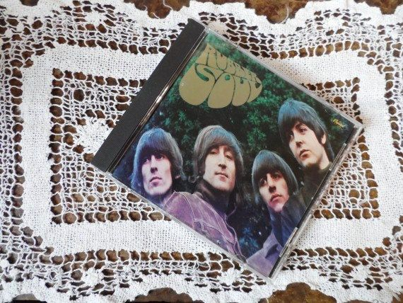 THE BEATLES Rubber Soul CD-Compact Disk-Songs-Paul McCartney-John Lennon-Ringo Starr-George Harrison-1960's Music-Orphaned Treasure-112116 by OrphanedTreasure on Etsy