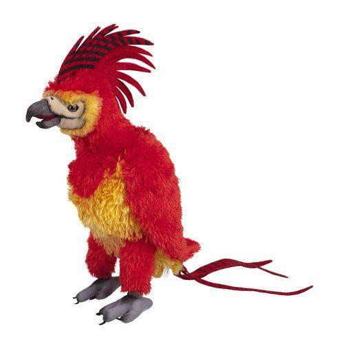 Harry Potter Fawkes The Phoenix Plush - http://geekarmory.com/harry-potter-fawkes-the-phoenix-plush/