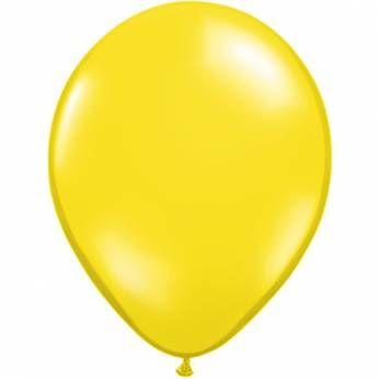 Qualatex Citroen Gele Ballonnen 11 inch per 10 Stuks