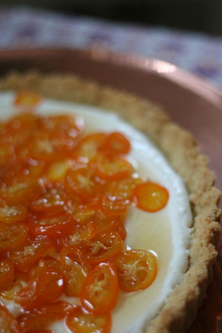 Kumquat ricotta tart w almond crust, by resting roost | Sweet Treats ...