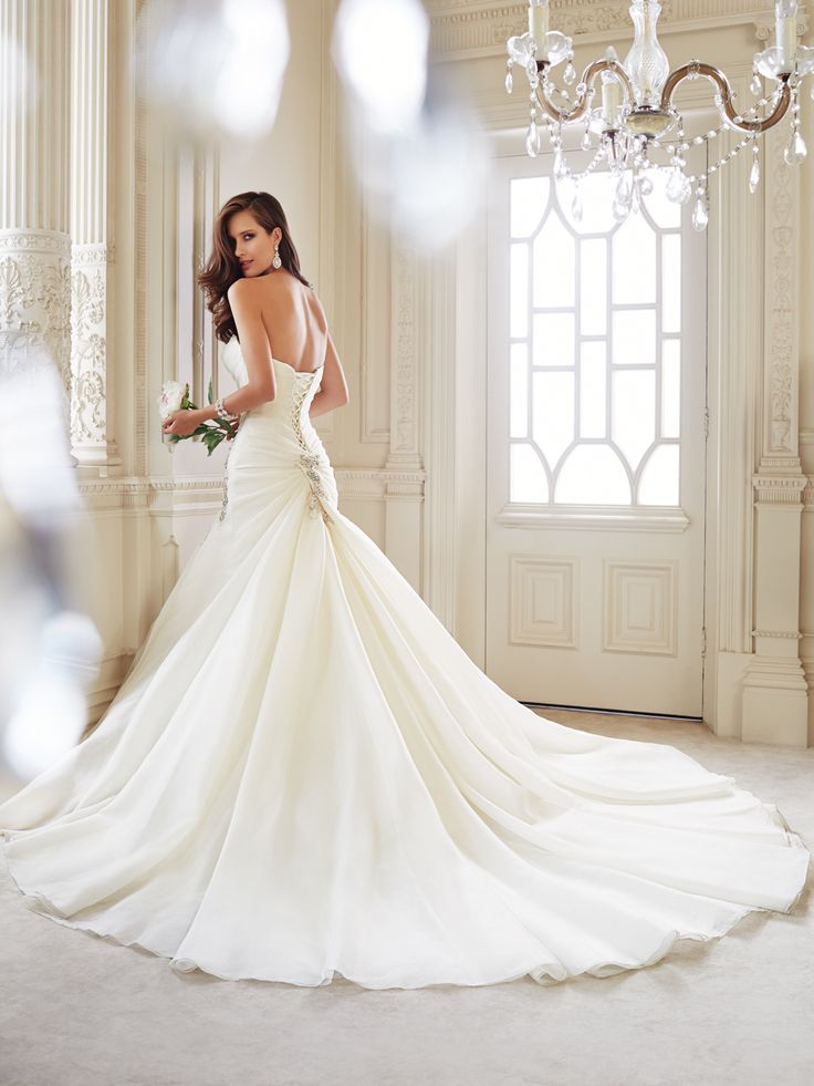 25 cute trumpet wedding gowns ideas on pinterest lace trumpet sophia tolli wedding dresses 2014 collection junglespirit Images