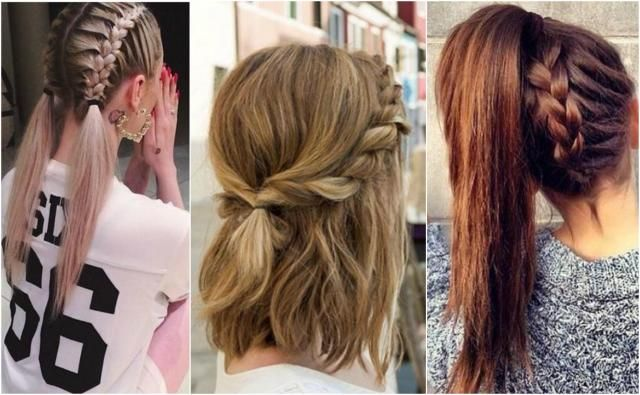 Fryzury Do Szkoły Długie średnie I Krótkie Włosy Włosy
