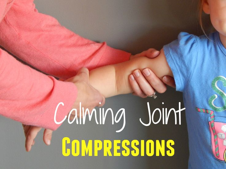 Learn the technique of joint compressions which provides proprioceptive input to help your child's body become calm, relaxed, and more organized.