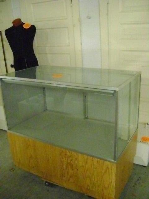 GLASS RETAIL DISPLAY CABINET COUNTER GLASS SHOWCASE JEWELRY DISPLAY  #UnbrandedGeneric