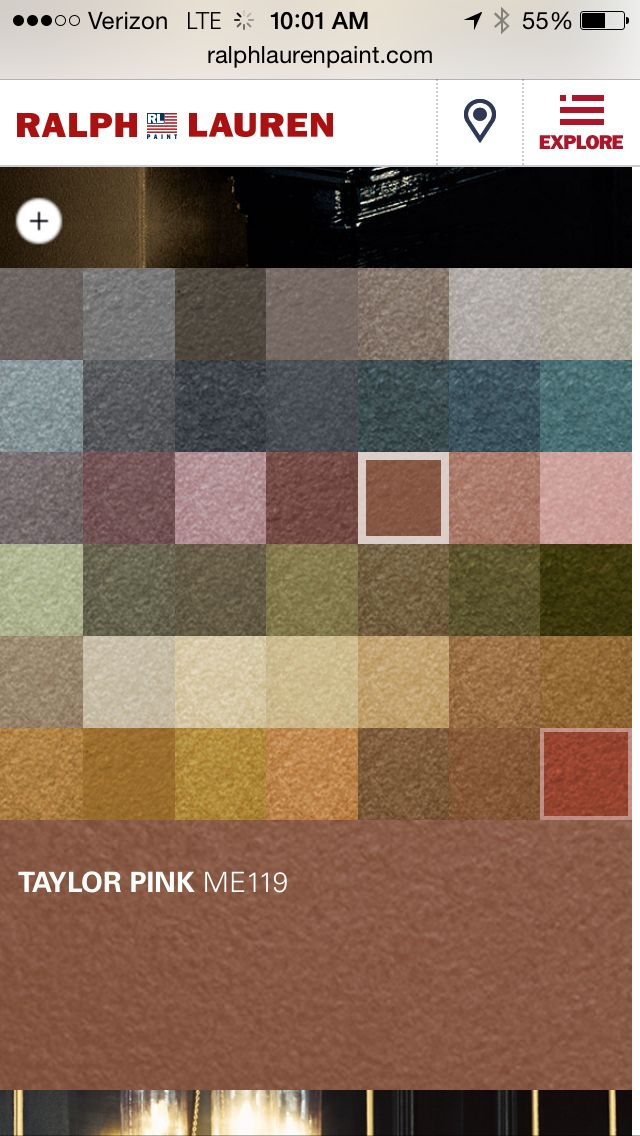 Ralph Lauren Metallic Paint In Taylor Pink Nursery Accent Color Baby Will Iii Pinterest Painting And Colors