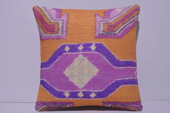 20x20 kilim pillow 20x20 large sofa pillow 50x50 cushion cover