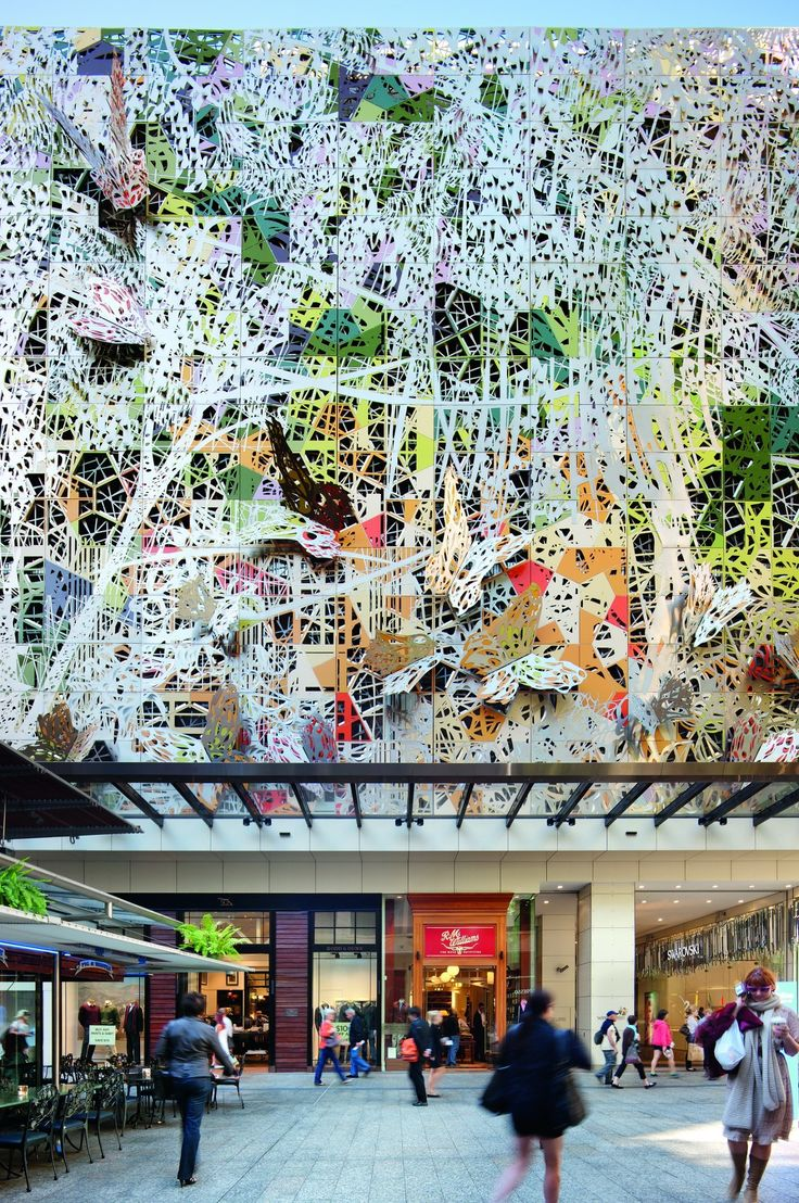 Award winning design of the Wintergarden Façade Brisbane / Australia / 2012 http://img.archilovers.com