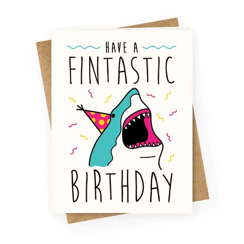 Have A Fintastic Birthday