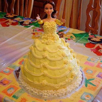 22 best Belle cake images on Pinterest Belle cake Birthdays and