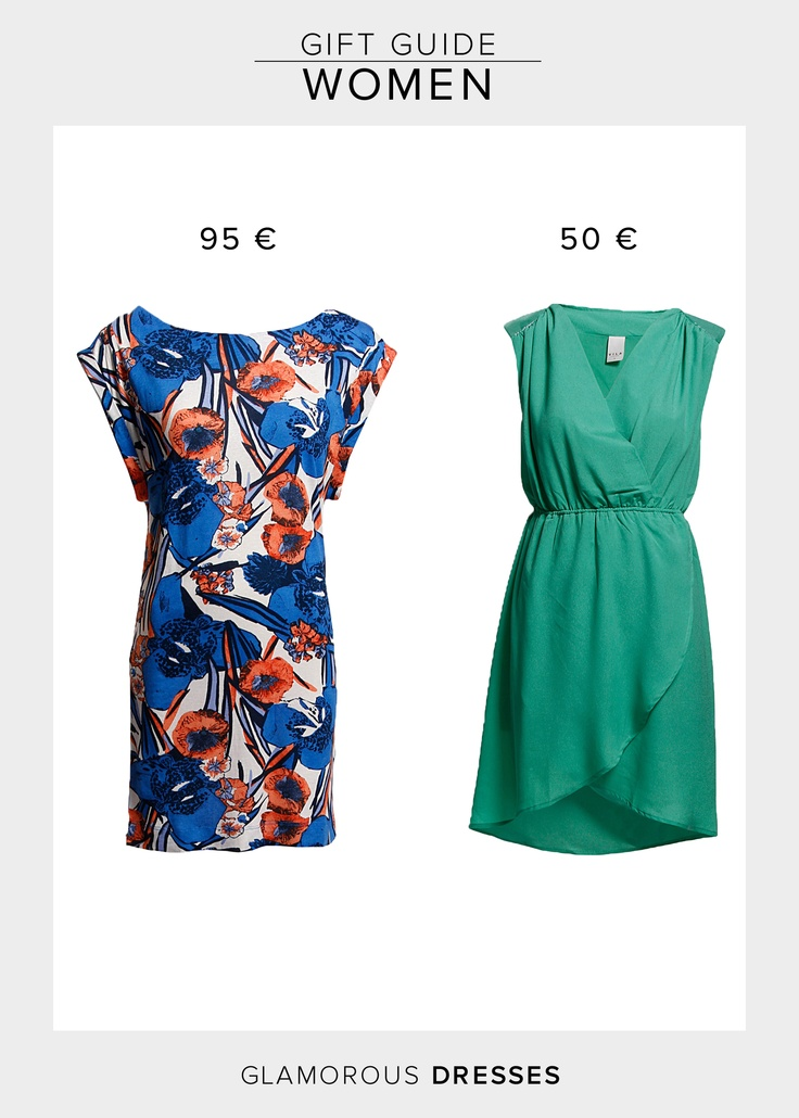 French Connection - Paradise Jersey Dress  95.00 €  http://www.boozt.com/r/french-connection/paradise-jersey-slessslashnkdr_939580/939581    Vila Likea Dress  49.95 €  http://www.boozt.com/r/vila/likea-dress_926795/926800