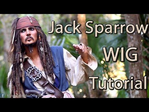Jack Sparrow Makeup Transformation - Cosplay Tutorial - YouTube