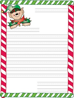 Santa Letters  these are SUPER cute!