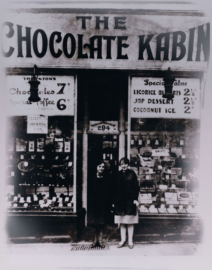 The very first Thorntons shop, the Chocolate Kabin, was opened in October 1911 in Sheffield by travelling confectioner Joseph William Thornton.