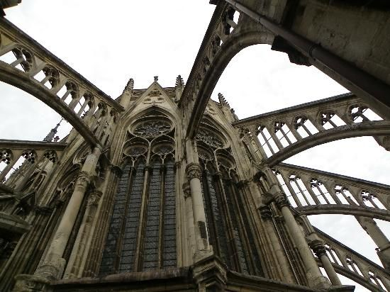 Notre Dame Flying Buttresses Gothic Architecture Pinterest