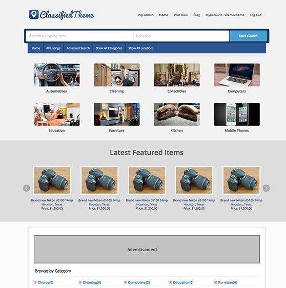 Quikr, Olx Clone WordPress Theme to Start Classified Ads Portal
