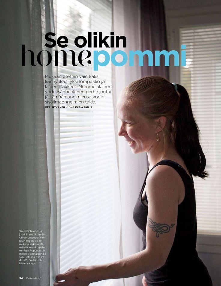 Suurperheen hometalokokemuksia - Kotivinkki 23/2015