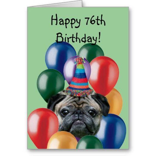 Best 25 Happy birthday pug ideas – Pug Birthday Cards