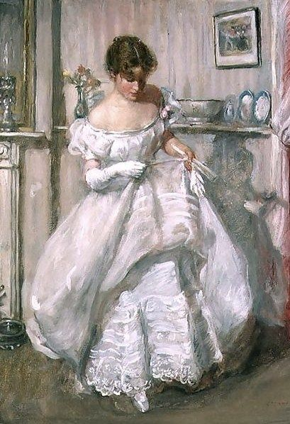 Dr. Henry Tonks (1862-1937) — The Torn Gown(409x598)