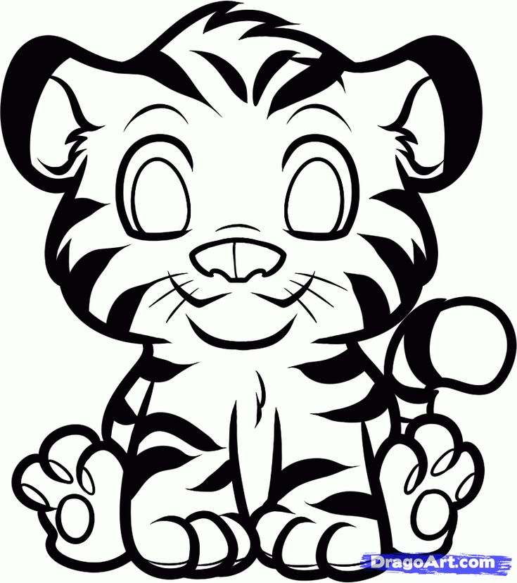 How to Draw an Anime Tiger, Step by Step, anime animals, Anime, Draw Japanese Anime, Draw Manga, FREE Online Drawing Tutorial, Added by Dawn...