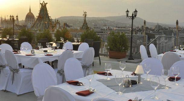 Hotel President Panoráma terasz