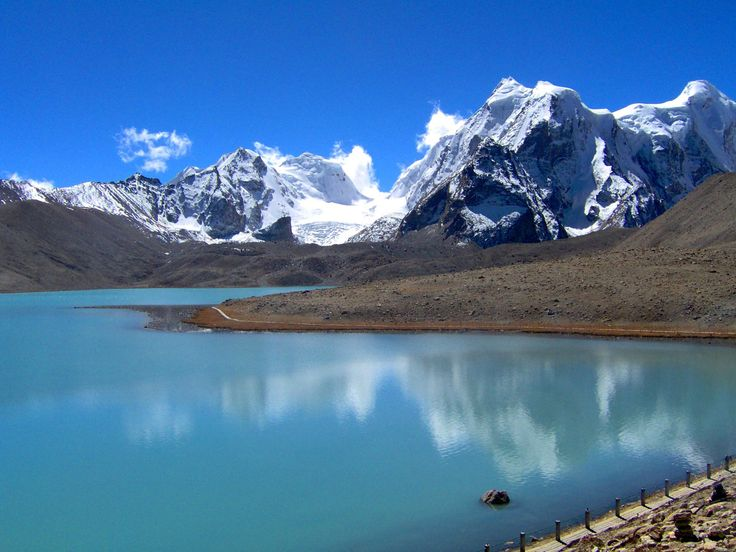 The breathtaking Kanchenjunga in northern Sikkim