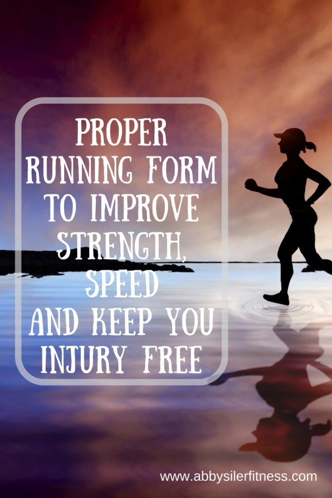 Proper Running form can keep you injury free and make you a stronger, faster runner!