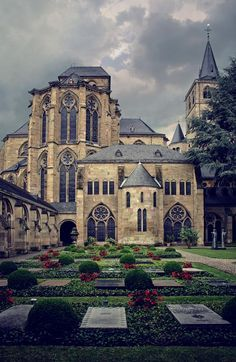 The Roman Cathedral in Trier, Germany.