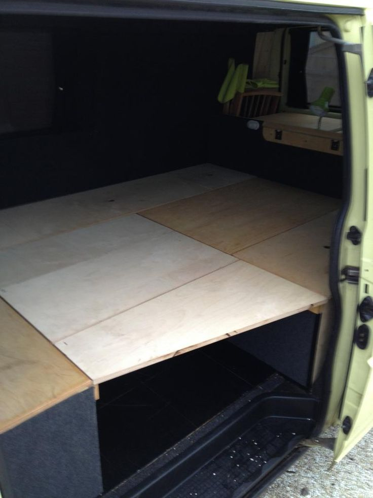 Self made wooden seat beds pics please page 5 vw t4 for Self made headboards