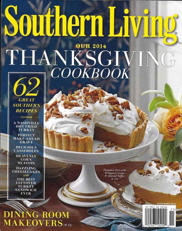 Thanksgiving Cookbook Cover : Southern living magazine thanksgiving cookbook festive