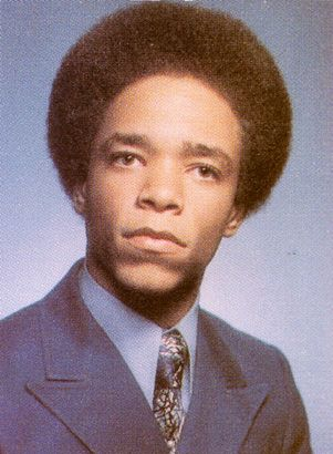 """Ice-T Senior Yearbook Photo at Crenshaw High School 1976 (b.p., or """"before perm"""" ha!)"""
