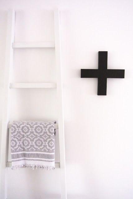 Ladder voor gehaakte deken