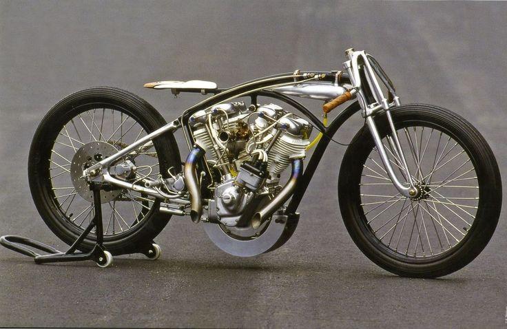 bobberinspiration:  Hagakure, Harley-Davidson boardtracker by Masayuki Morimoto