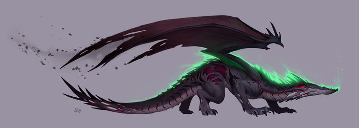ArtStation - Storm Dragon, Ryan Metcalf