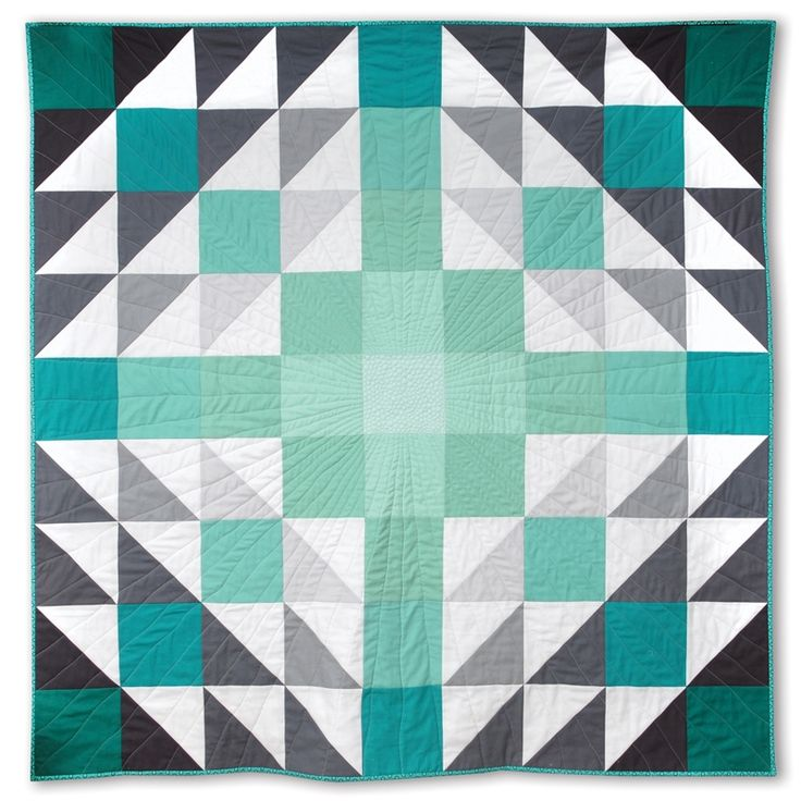 Quilt Patterns With 6 Inch Squares : Ombre Vibes Quilt - free tutorial for this 54 inch square quilt QUILTING Pinterest Ombre ...