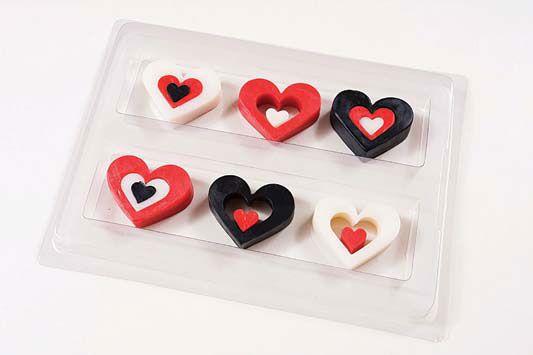 Sabonetes de coração para um romântico dia dos namorados - Portal de Artesanato - O melhor site de artesanato com passo a passo gratuito