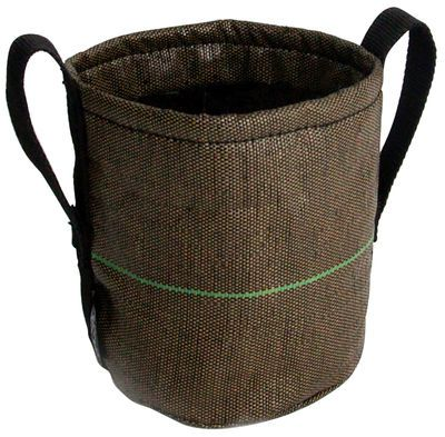 Geotextile Flowerpot - 3 L - Outdoor 3L - Brown by Bacsac - Design furniture and decoration with Made in Design