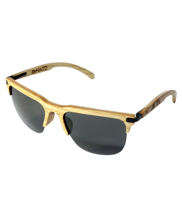 Regalos que encantan: Gafas en madera Trevo Ash black grey FENTO en Dekosas.