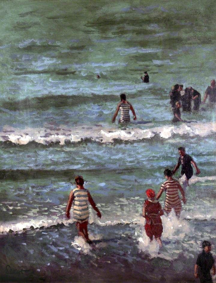 Bathers, Dieppe, 1902, Walter Richard Sickert (1860-1942).