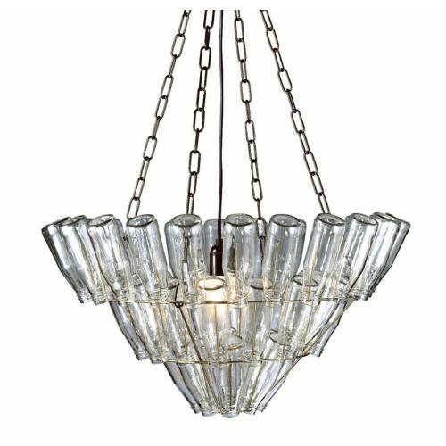 Hanglamp Leitmotiv Bottle Chandelier Large