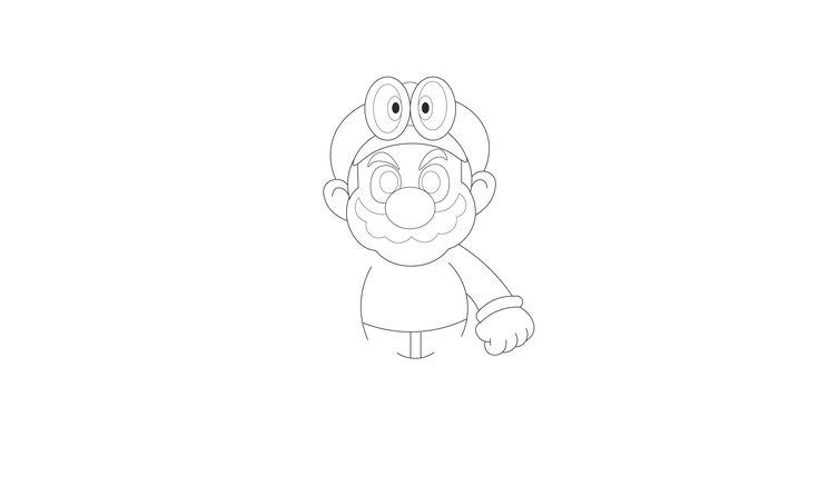 Pin By Shawn Howto On How To Draw Super Mario Odyssey