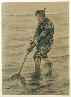 Vincent van Gogh, Vincent van Gogh en Josef Israels - De Schelpenvisser - 1883…