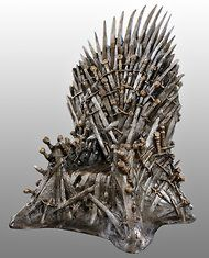 HBO selling Game of Thrones Iron Throne replicas for $30,000.