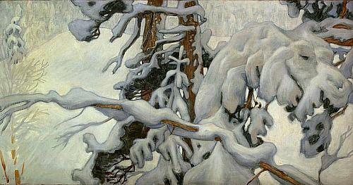 Akseli Gallen-Kallela, Winter (1902)