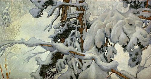 Akseli Gallen-Kallela, Winter (1902)