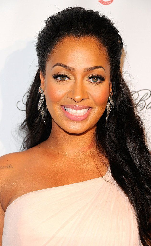 Lala Anthony, una afro-latinoamericana.   Ellas son algos de la representacion de afro-latina en la media. Ellas siguien el patron de la piel luz y pelo sedoso y liso.