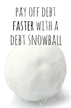 How you can pay off debt faster using the debt snowball method. (Explains what that is, too.) #payoffdebt #debtsnowball
